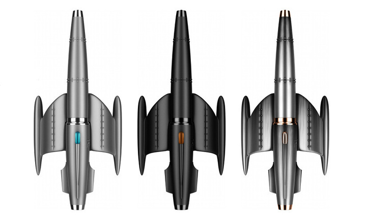 Moonfighter : le stylo-fusée RJ-Romain Jerome