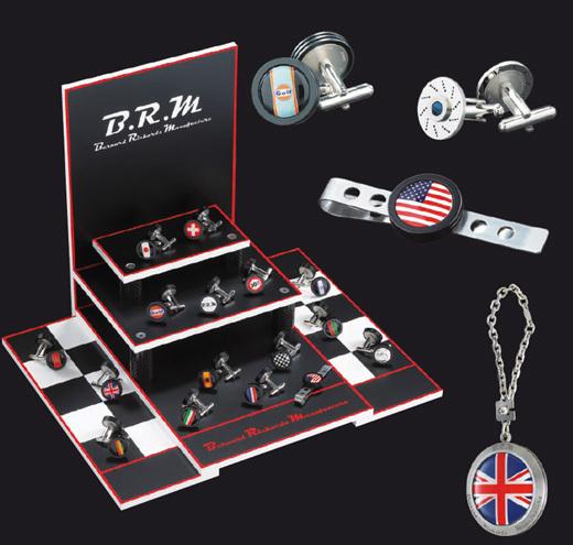 BRM : boutons de manchette, pince-cravate ou porte-clefs pour une nouvelle gamme d'accessoires