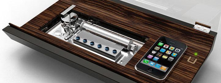 L'iReuge… : première station musicale mécanique pour téléphone portable