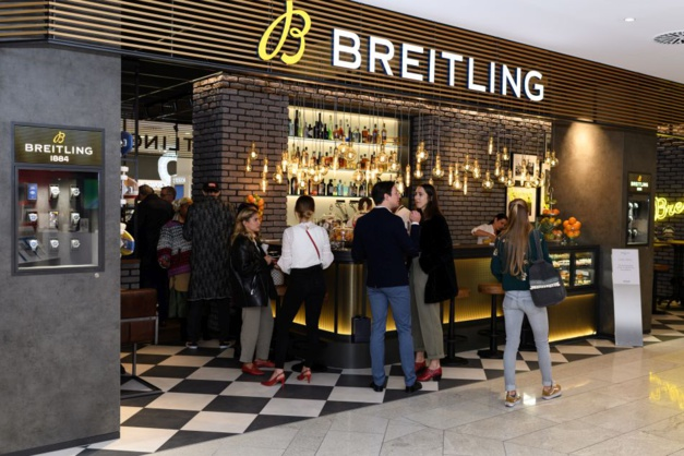 Breitling concept-store bistro Jelmoli