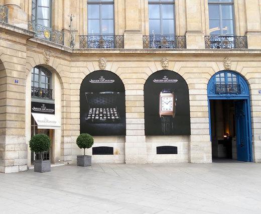 Jaeger-LeCoultre : une nouvelle boutique sur la place Vendôme pour 2012