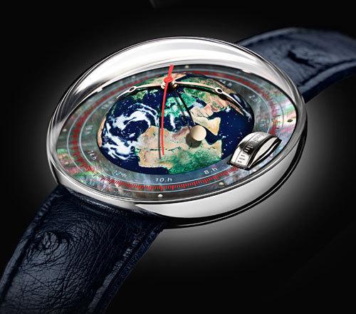 Magellan : une montre où l'heure tourne vraiment rond !
