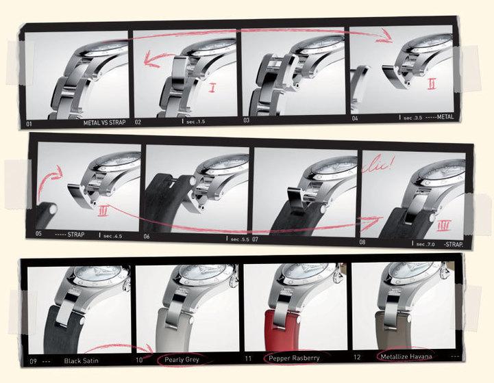Baume et Mercier Linea : une collection de bracelets qui annonce la couleur