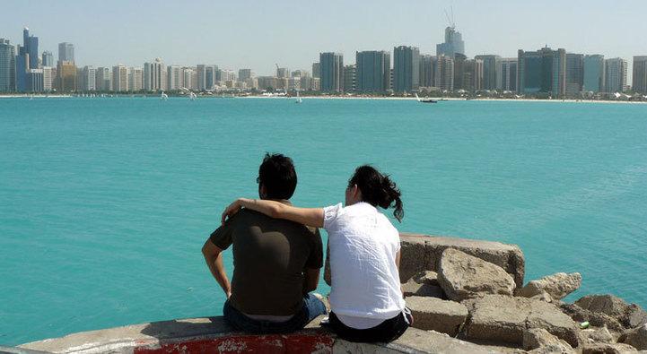 Vue d'Abu Dhabi