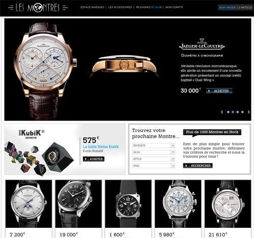 Boutique LesMontres.com : les montres de luxe en vente en ligne de la boutique Les Montres à Paris