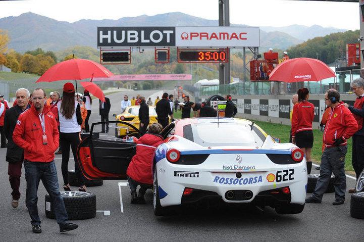 Hublot partenaire de Ferrari
