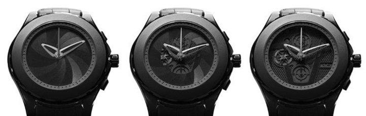 Valbray V.01 Full Black : un diaphragme et deux visages pour une même montre…