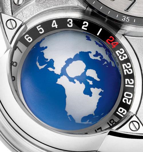 La vision poétique de la fonction GMT par Greubel-Forsey