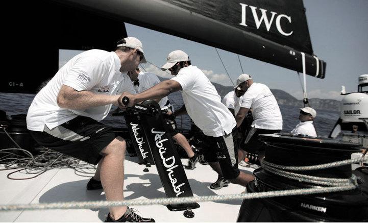 Portugaise Yacht Club Chronographe Edition Volvo Ocean Race 2011-2012 : une Portugaise au tour du monde