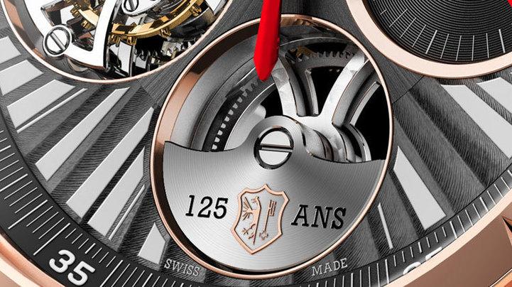 Roger Dubuis Excalibur Tourbillon volant Chronographe Mono-poussoir : pour les 125 ans du Poinçon de Genève