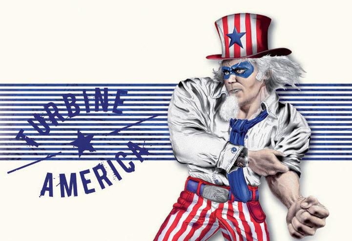 Perrelet Turbine XL America :  la montre des « supers héros »