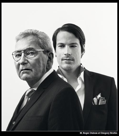 Roger Dubuis et Gregory Bruttin
