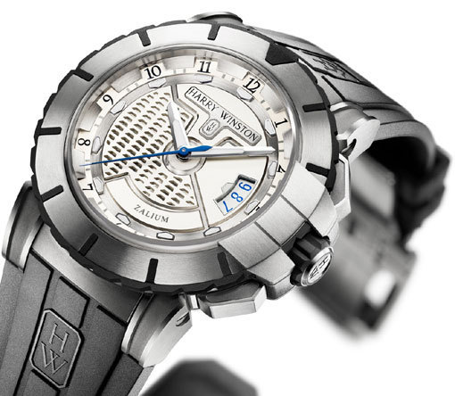 Harry Winston Ocean Sport collection : une sportive en Zalium