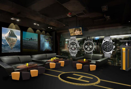 Breitling : un pop-up bar au Fifty2 Lounge de Hong Kong