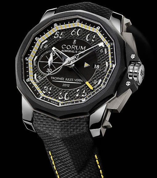 Corum Admiral's Cup Seafender 48 Chrono Centro Edition spéciale Trophée Jules Verne