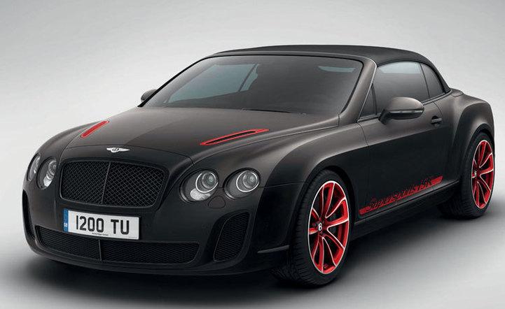 Breitling for Bentley : Bentley Supersports ISR, légère et puissante