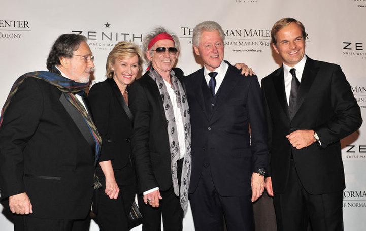 Zenith : sponsor officiel du Gala annuel du Norman Mailer Center