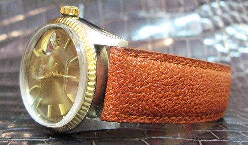 bracelet-montre ABP en chameau
