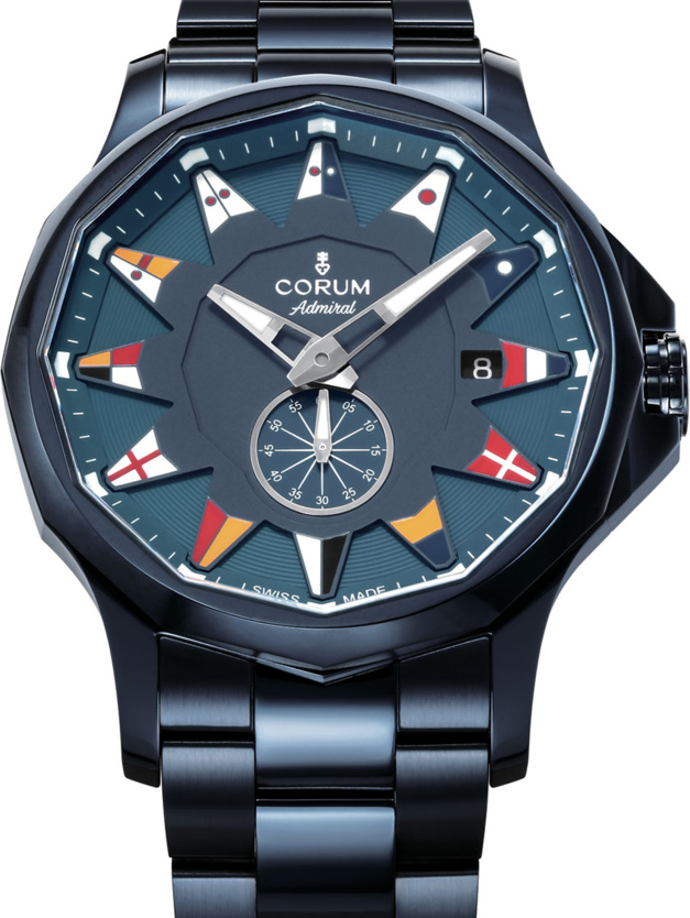 Corum Admiral Legend pvd bleu