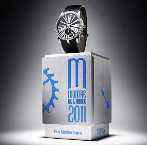 Roger Dubuis : l'Excalibur Lady remporte le Prix de la « Montre Dame » au GPHG 2011