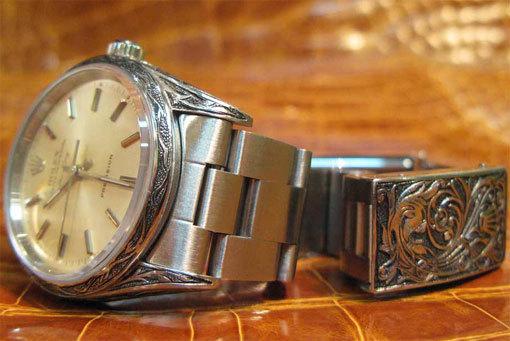 Gravure sur montres : nouveau service proposé par l'Atelier du Bracelet Parisien
