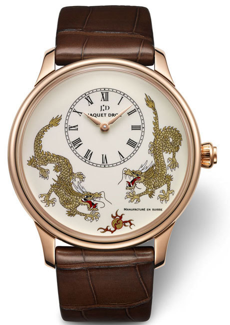 Petite Heure Minute Dragon Jaquet Droz : l'année du Dragon