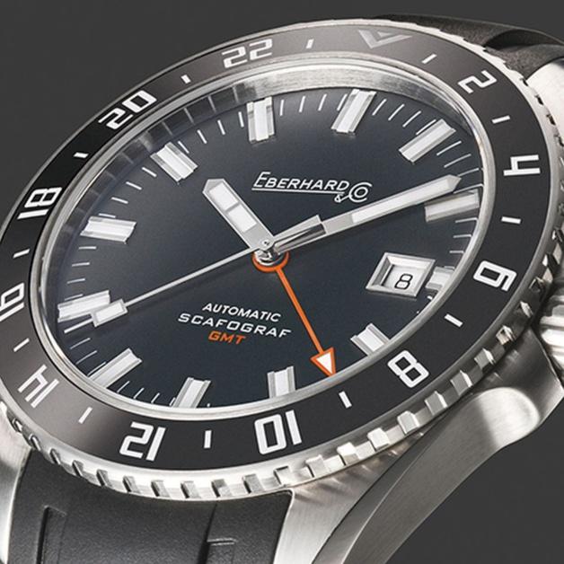 Eberhard & Co Scafograf GMT