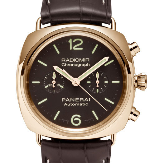 Officine Panerai Radiomir Chronographe Oro Rosa PAM 00377