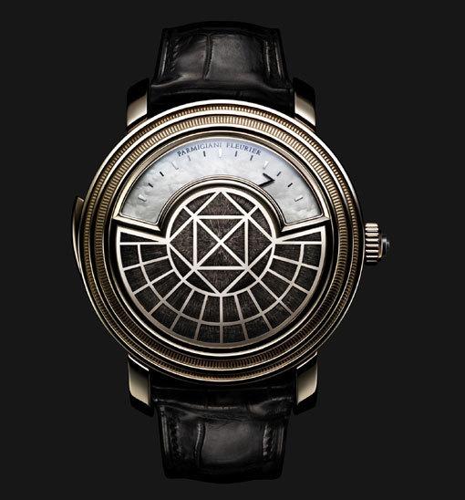 Parmigiani Fleurier Toric Répétition minutes et affichage du temps par secteur