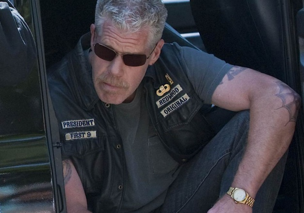 Ron Perlman Sons of anarchy Rolex Daydate DR