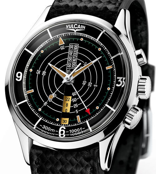 Vulcain Nautical Heritage limited edition : plongée dans le vintage