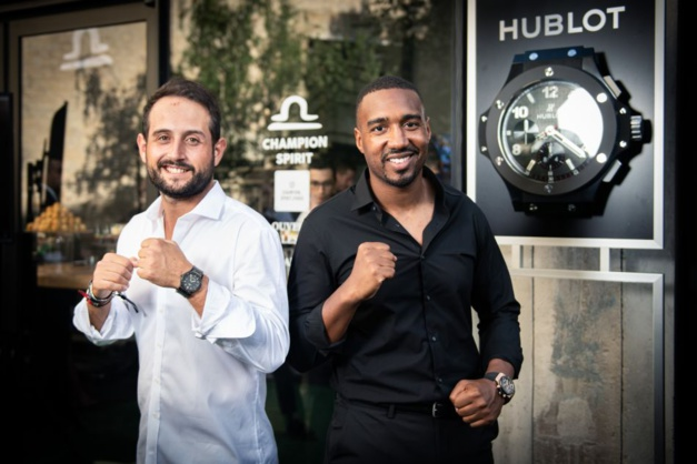 Abdoulaye Fadiga Champion Spirit pour Hublot