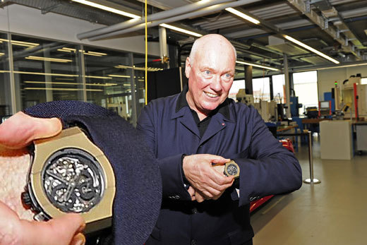 Jean-Claude Biver et le Magic Gold
