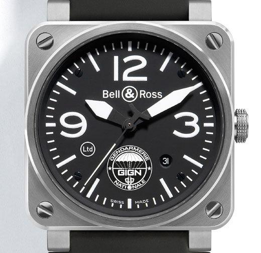 Bell & Ross réalise une série limitée de BR 03-92 destinée aux hommes du GIGN