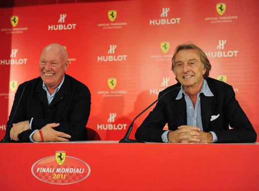 Hublot partenaire du Club Ferrari France