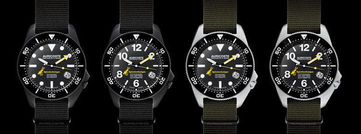 Auricoste Spirotechnique : la montre de nageurs de combat de la Marine nationale à votre poignet