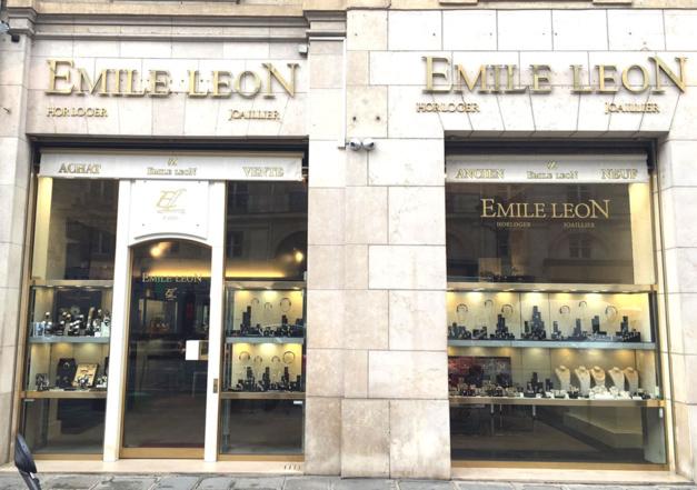 Emile Leon, 8 rue Royale Paris, DR