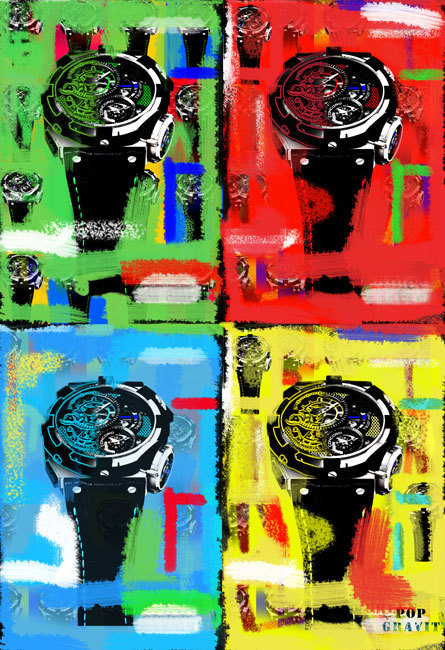 Concord C1 Tourbillon POP Gravity Édition Collector : un tourbillon de couleurs