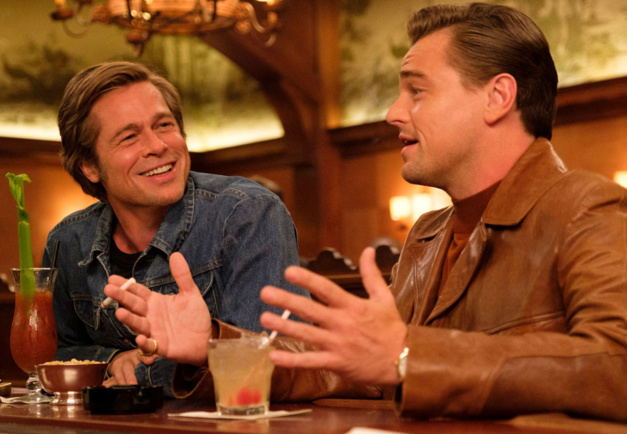 Once upon a time in Hollywood Brad Pitt et Leonardo DiCaprio, DR