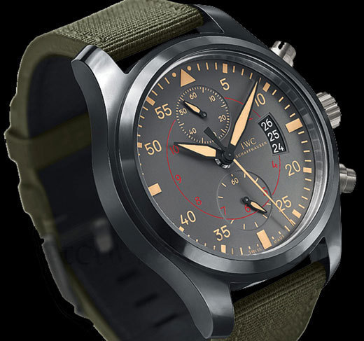 IWC montre d'aviateur Chronographe Top Gun Miramar