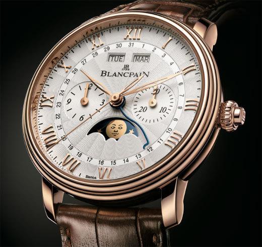 Blancpain Villeret Chronographe Monopoussoir Quantième complet
