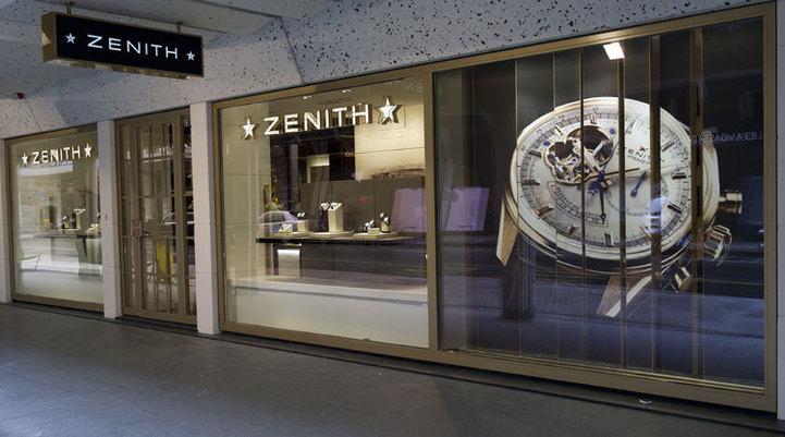 Zenith : ouverture d'une boutique exclusive à Genève