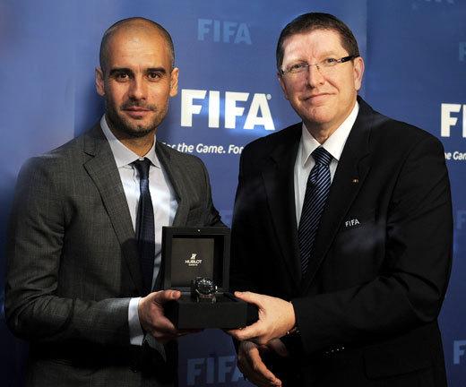 FIFA Ballon d'or 2011 : une montre Hublot offerte aux gagnants