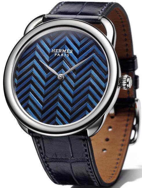 Arceau Hermès : la marqueterie de paille à l'honneur