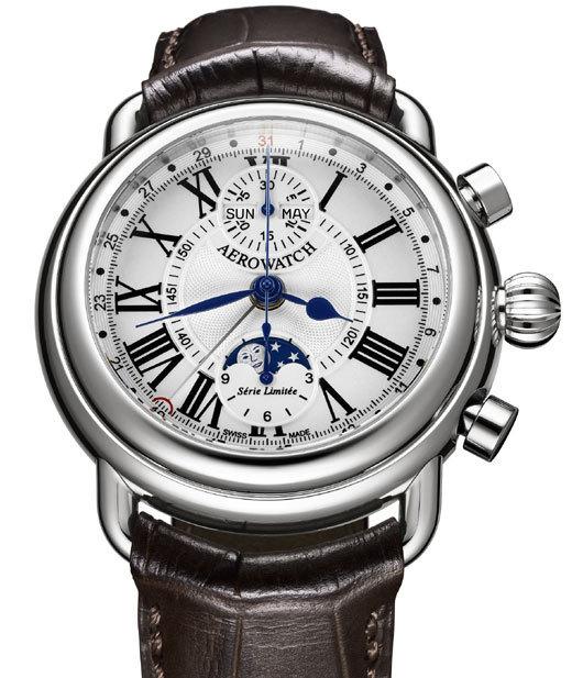 Aerowatch Chronographe 1942 : pour amateurs de belle horlogerie classique