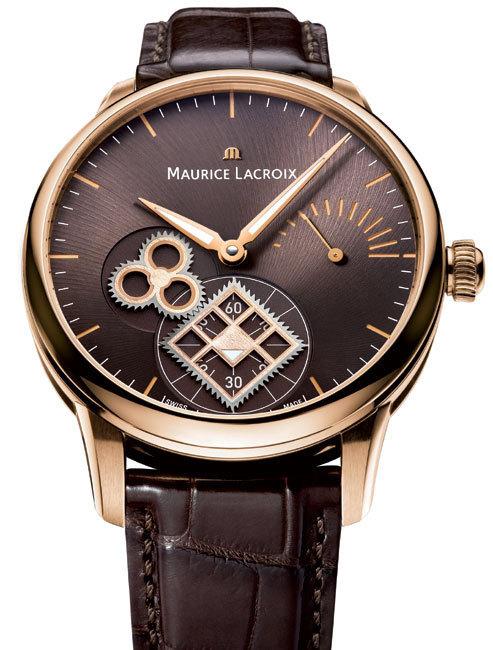 Maurice Lacroix Masterpiece Roue Carrée Seconde Or Rose : le mystère de la roue carrée