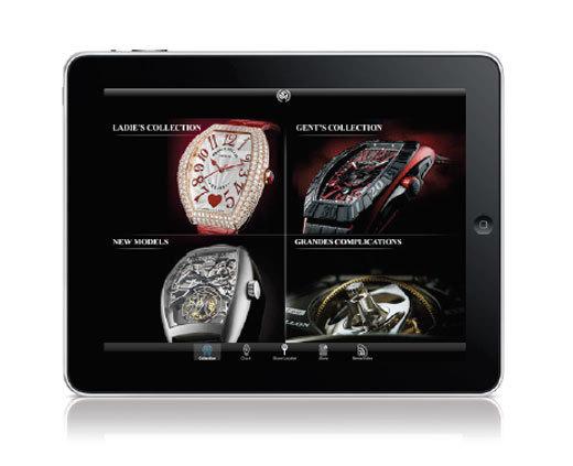 Franck Muller lance son application iPhone et iPad
