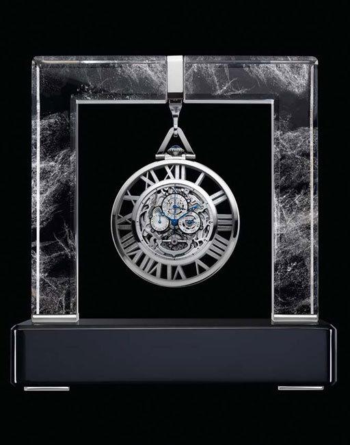 Cartier montre de poche Grande Complication Squelette calibre 9436 MC : pour esthètes modernes