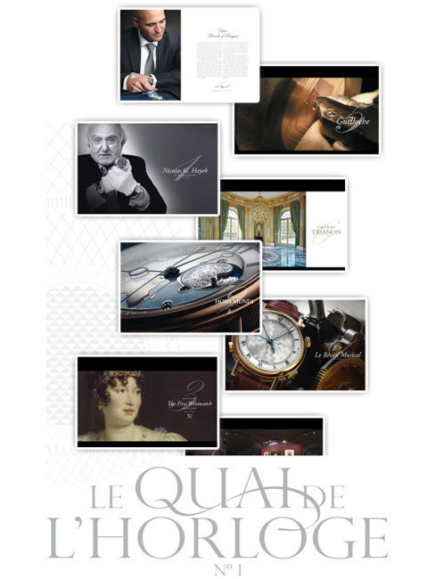 Quai de l'horloge : le nouveau magazine institutionnel de Breguet