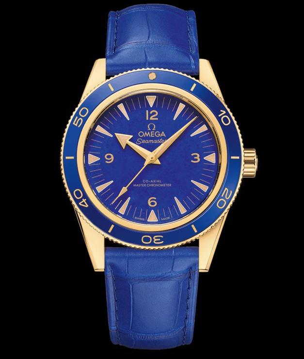 Omega Seamaster 300 lapis